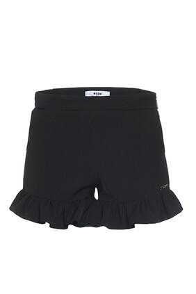 Logo Ruffle Shorts