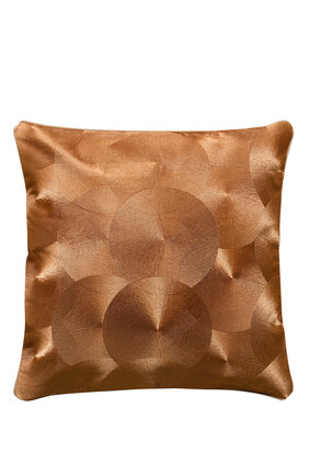 Quilted Geometric Cushion