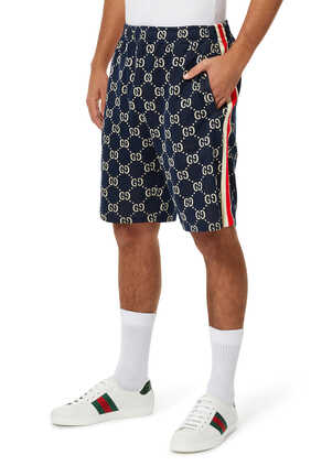GG Jacquard Jersey Shorts