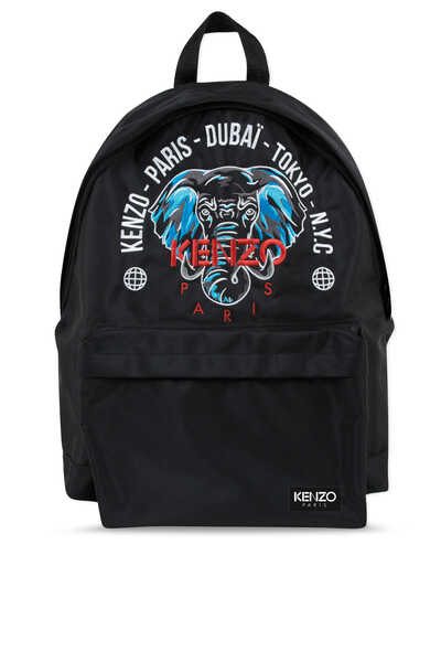 Elephant And City Names Backpack