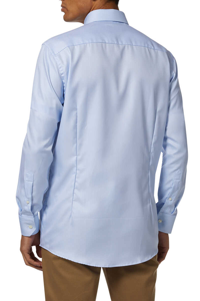 Slim Fit Signature Twill Shirt image thumbnail number 3