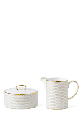 Arris Cream and Sugar Set of Two