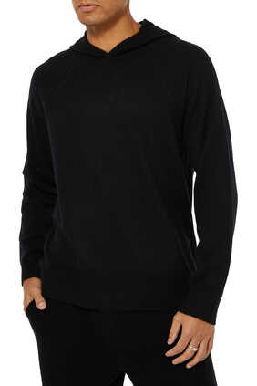 Cashmere Hooded Pullover