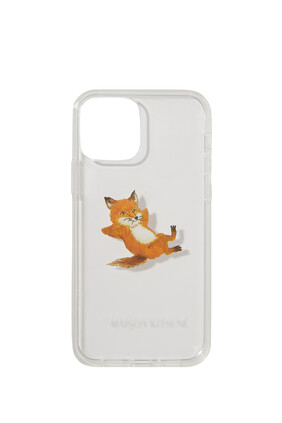Chilax Fox Tranparent Iphone Case