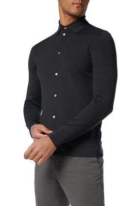 Grey Flexwool Shirt