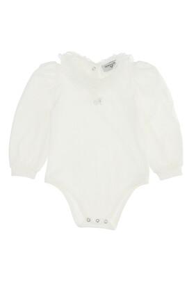 Frill Cotton Bodysuit