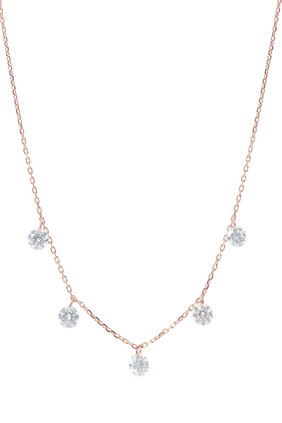Danae Necklace With Diamonds