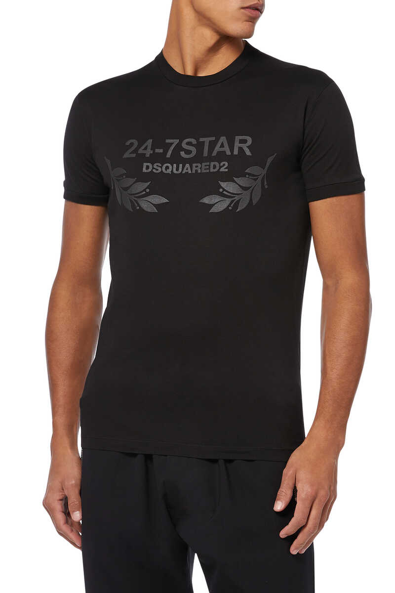 Dsquared 24/7 Star Logo T-shirt image number 1