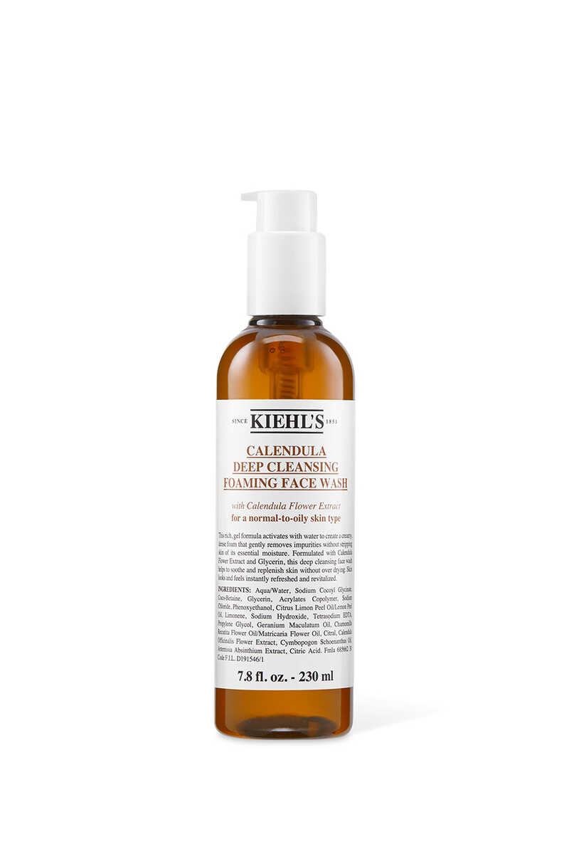 Calendula Deep Cleansing Foaming Face Wash image number 1