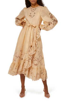 Brighton Scallop Dress