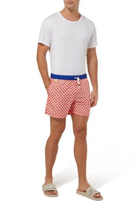 Trawangan Red Woodstock Swim Shorts