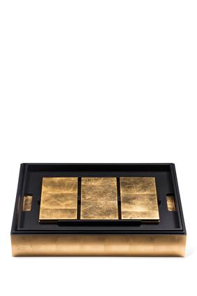 Grand Matbox Gold Leaf Set