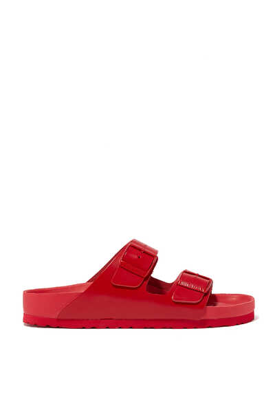 Valentino Garavani X Birkenstock Leather and Rubber Sandals