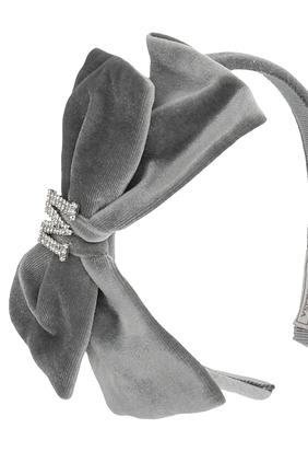 Velvet Embellished Hairband