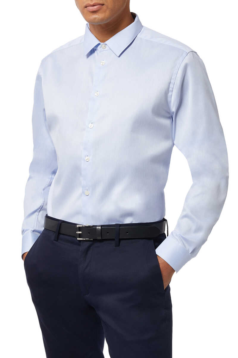 Super Slim Fit Signature Twill Shirt image thumbnail number 5