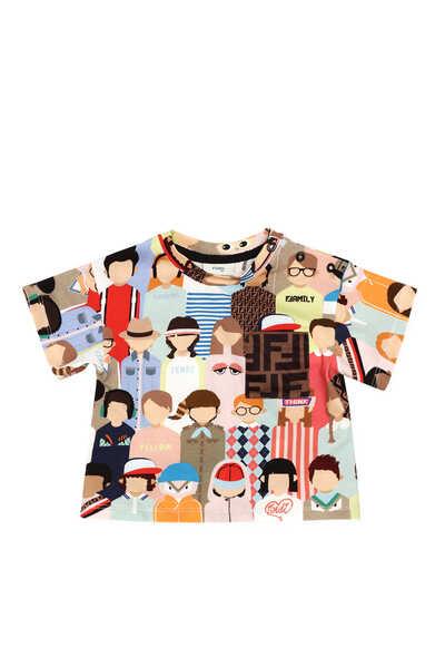 All-Over Friends Logo T-Shirt
