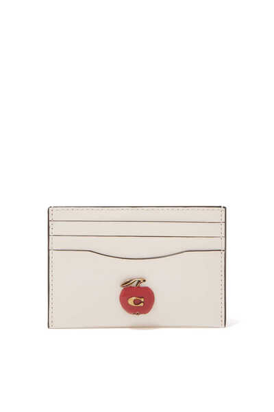 Apple Leather Card Case