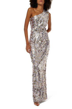 Hunter Sequin Embellished Gown