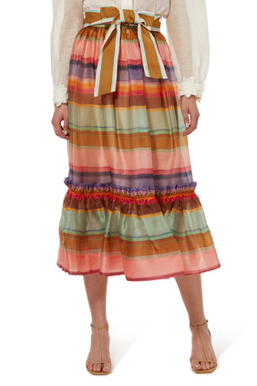 The Lovestruck Rainbow Skirt