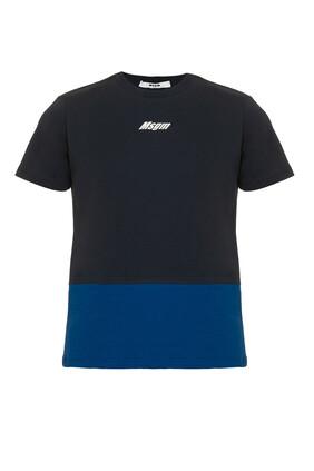 Logo Color Block T-Shirt