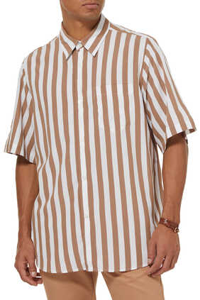 Striped Short Sleeve Shirt