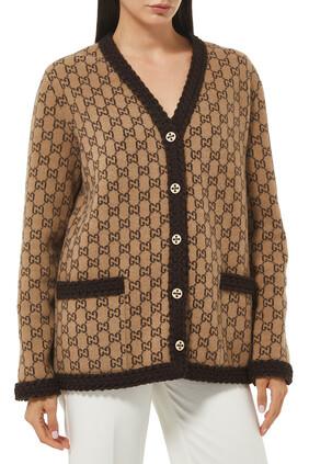 GG Knit Cardigan