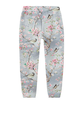 Floral Prints Sweatpants