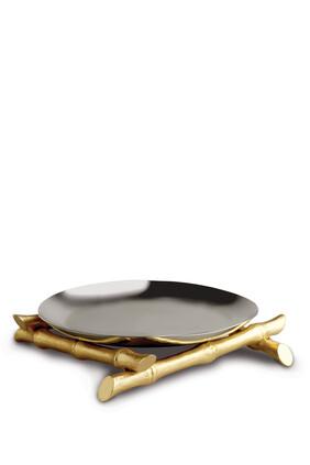 Bambou Round Platter
