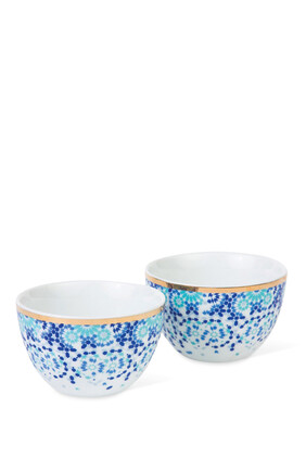 Mirrors Nut Bowls, Set of Two