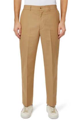 Wool Mohair Pants
