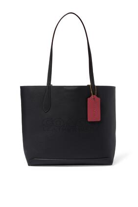 Kia Color Block Tote Bag
