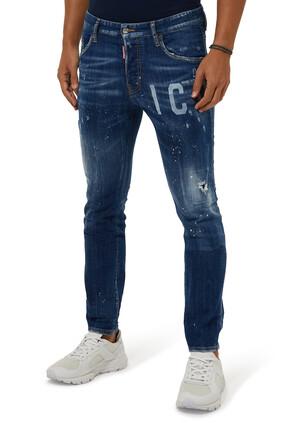 Tidy Biker Denim Jeans