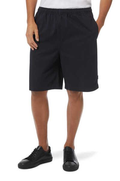Logo Print Beach Shorts