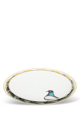 Sarb Rock Pigeon Dinner Plate