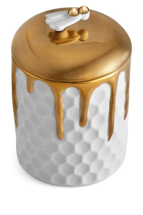 Beehive Candle in Porcelain