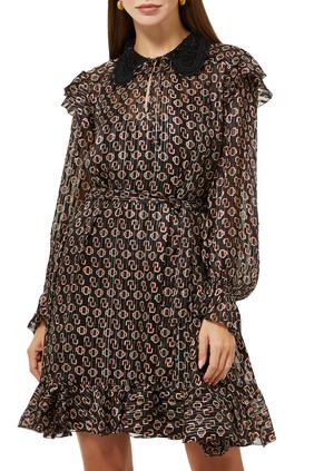 Rinette Graphic Print Dress