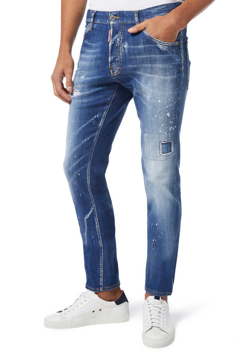 Cool Guy Scar Wash Denim Jeans image number 1