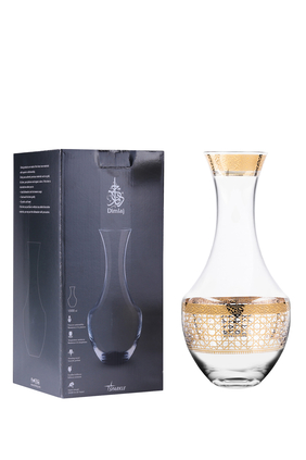 Gold Crystal Decanter