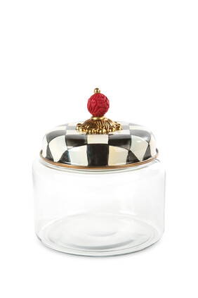Courtly Check Kitchen Canister Small