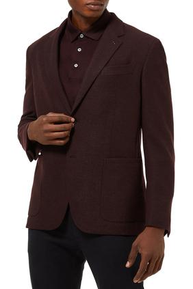 Double Vent Blazer Jacket