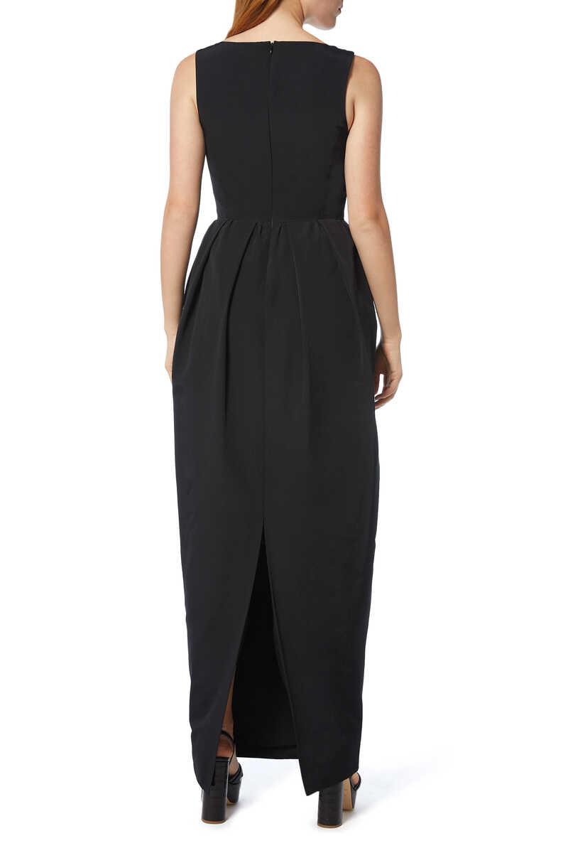 Iris Pleated Maxi Dress image number 3
