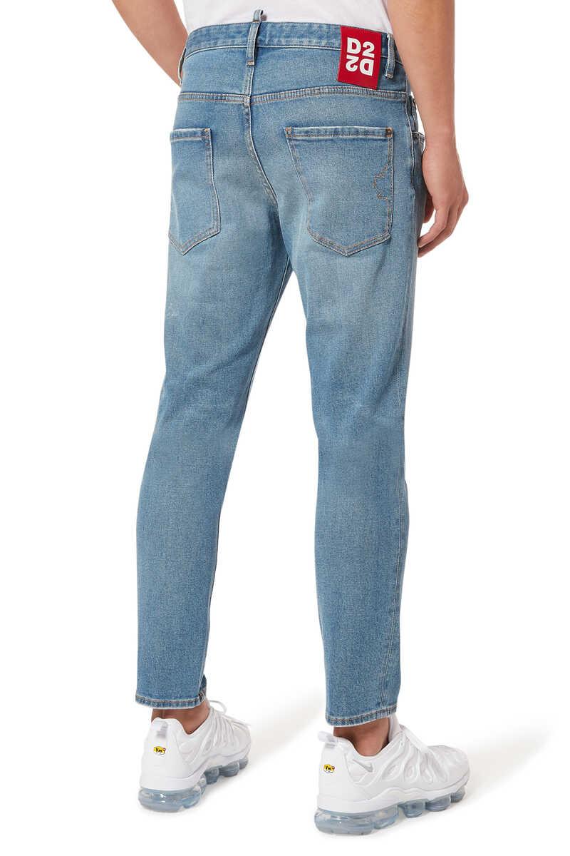 Skater Light Dusty Denim Jeans image number 3
