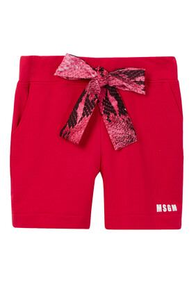 Logo Bow Shorts