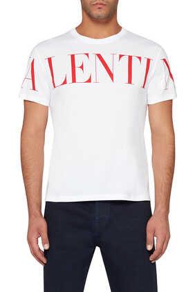 Valentino Garavani Logo Print T-Shirt