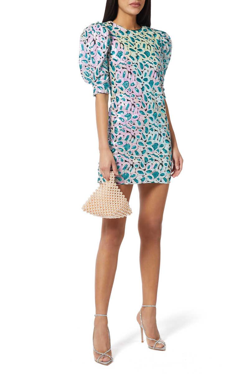 Christina Sequin Dress image number 2