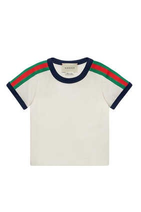 Stripe Trim Kingsnake T-Shirt