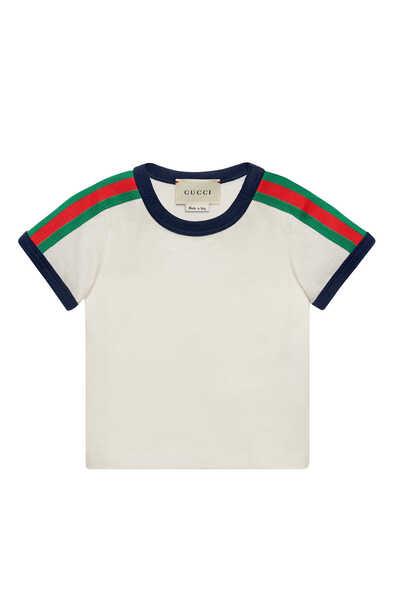 Stripe Trim Kingsnake T-Shirt