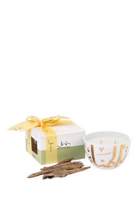 Ghida Gold Oud Candle