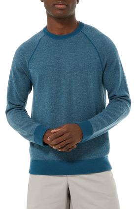 Birdseye Raglan Sweater