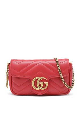 GG Marmont Matelassé Leather Super Mini Bag